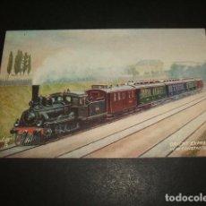 Postales: TREN ORIENT EXPRESS CERCA DE CONSTANTINOPLA POSTAL. Lote 128487947