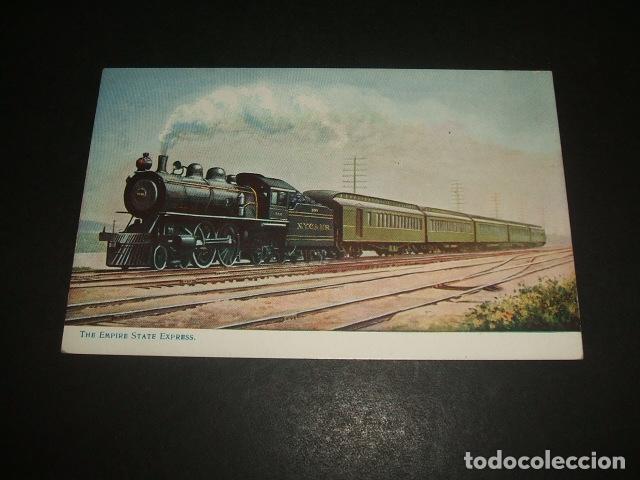 TREN INGLES POSTAL (Postales - Postales Temáticas - Trenes y Tranvías)