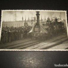 Postales: MATARO BARCELONA FOTOGRAFIA TAMAÑO POSTAL 28 X 1948 FERROCARRIL DEL CENTENARIO MUY RARA. Lote 128675759