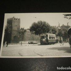 Postales: BARCELONA POSTAL FOTOGRAFICA POR INGLES BURROWS TRANVIA P. NUEVO BORDEYA AÑOS 40-50. Lote 128950347