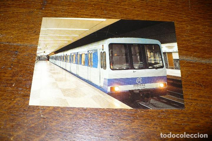 Metro Serie 500 Compania Metropolitana De Madrid Estacion Las Musas Linea 7 Sin Circular