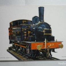 Postales: POSTAL LOCOMOTORA CLASE P.57 -INGLATERRA 1904. Lote 133779714