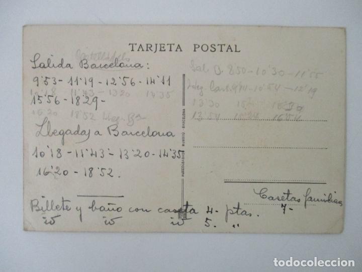 Postales: Tarjeta Postal - Caminos de Hierro del Norte de España - En Plena Sierra, Linea de Segovia - Foto 2 - 135290078