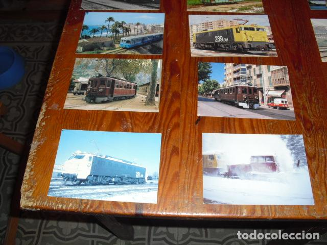 Postales: 21 POSTALES LOCOMOTORAS ELÉCTRICAS ESPAÑOLAS - - Foto 2 - 138037782