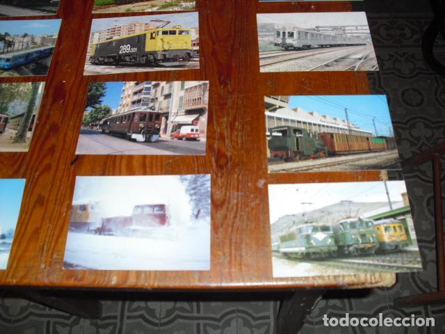 Postales: 21 POSTALES LOCOMOTORAS ELÉCTRICAS ESPAÑOLAS - - Foto 3 - 138037782