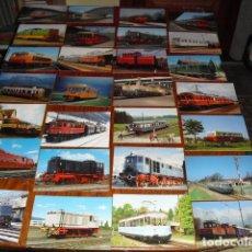 Postales - CONJUNTO 28 POSTALES LOCOMOTORAS ELÉCTRICAS ALEMANAS. - 138194102