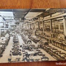Postales: FABRICACIÓN DE MOTORES PARA TRANVÍAS ELÉCTRICOS. Lote 138818485