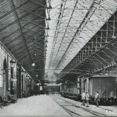 Postales: BARCELONA-INTERIOR DE LA ESTACIÓN DE FRANCIA-1912-FOTOGRÁFICA CUYAS. Lote 138928090