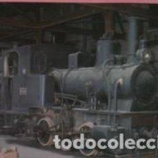 Postales: POSTAL TREN FERROCARRIL MOLLERUSA BALAGUER - ORESTEIN AND KOPPEL - INTERIOR AZUCARERA D TERMENS. Lote 139757290