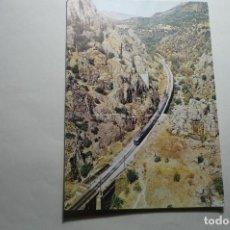Postales: POSTAL RENFE - SERIE V-1 LINEA MADRID -CORDOBA -DESPEÑAPERROS -ESCRITA. Lote 142199254