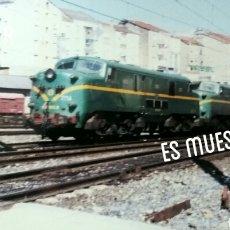 Postales: ESTACIÓN DE OURENSE 1986. Lote 142782630