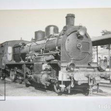 Postales: POSTAL DE TREN - Nº 4007 - LOCOMOTORA DE VAPOR 140-2480 - CALATAYUD 1966 - EUROFER. Lote 221174965