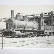 Postales: POSTAL DE TREN - Nº 4068 - LOCOMOTORA VAPOR 030/2604 - AÑO 1859, BARCELONA - EUROFER. Lote 148252782
