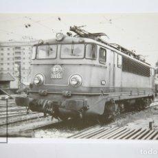 Postales: POSTAL DE TREN - Nº 4093 - LOCOMOTORA ELÉCTRICA 10003 - BARCELONA-VILANOVA 1964 - EUROFER. Lote 147156334