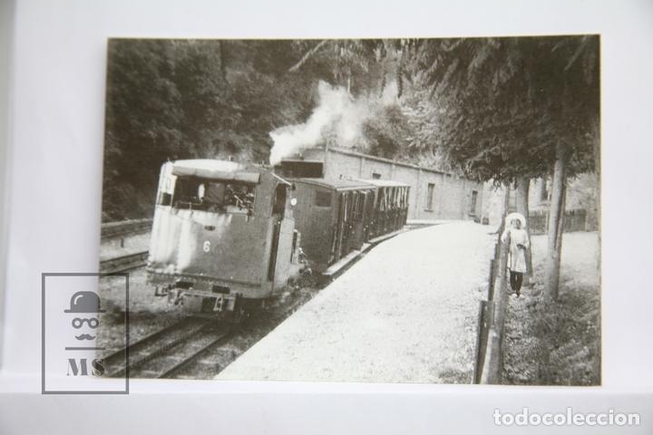 POSTAL DE TREN - Nº 4101 - F.C. CREMALLERA MONISTROL-MONTSERRAT - EST. MONTSERRAT - EUROFER (Postales - Postales Temáticas - Trenes y Tranvías)