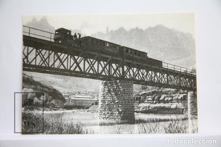 POSTAL DE TREN - Nº 4117 - FERROCARRIL CREMALLERA MONISTROL A MONTESERRAT - EUROFER (Postales - Postales Temáticas - Trenes y Tranvías)