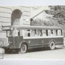 Postales: POSTAL DE BUS - Nº 4180 - COL. VIEJAS GLORIAS AUTOBUS SERIE 101-103 - PL. ESPAÑA, BARCELONA -EUROFER. Lote 157170226
