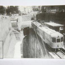 Postales: POSTAL DE TREN - Nº 4223 - ESTACIÓN DEL F.C SARRIÁ AÑO 1929 - OBRES PLAZA MOLINA - EUROFER. Lote 178833768