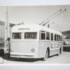Postales: POSTAL DE BUS - Nº 4268 - TROLEBÚS Nº 2 T.E.P. PONTEVEDRA MARÍN - PUBLI. PHILIPS - EUROFER. Lote 180437390
