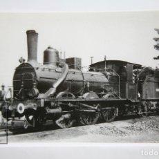Postales: POSTAL DE TREN - Nº 4291 - LOCOMOTORA VAPOR 030-2076 - CASTELLÓN 1966 - EUROFER. Lote 147162212