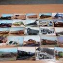 Postales: LOTE 24 POSTALES LOCOMOTORAS TRENES - SIN CIRCULAR - VER FOTOS. Lote 146531462