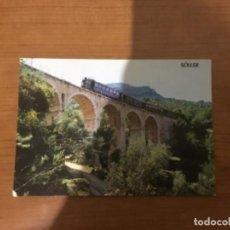 Postales: TREN ELÉCTRICO DEL SOLLER.. Lote 147095930