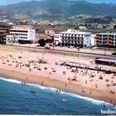 Postales: PINEDA DE MAR-PLAYA FERROCARRIL. Lote 147292614