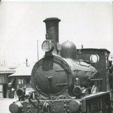 Postales: BARCELONA-LOCOMOTORA A VAPOR MZA-EN EL PUERTO AÑO 1920-FOTOGRÁFICA CUYAS. Lote 147424218
