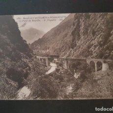 Postales: FRANCIA VIADUCTO FERROCARRIL POSTAL ANTIGUA. Lote 148046282