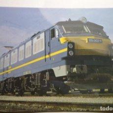Postales: POSTAL TREN LOCOMOTORA 251-RENFE. Lote 150500062
