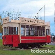 Postales: POSTAL TRANVÍA MATARO-ARGENTONA. PLZA. EUROPA. MATARÓ. REF. 7F-713. Lote 152224054