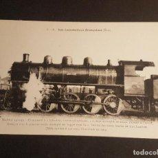 Postales: FRANCIA LOCOMOTORA TREN FERROCARRIL MAQUINA POSTAL. Lote 153623522