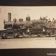 Postales: FRANCIA LOCOMOTORA TREN FERROCARRIL MAQUINA POSTAL. Lote 153623670