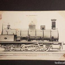 Postales: FRANCIA LOCOMOTORA TREN FERROCARRIL MAQUINA POSTAL. Lote 153623718