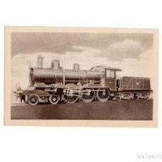 Postales: FERROCARRILES ESPAÑOLES. LOCOMOTORA COMPOUND TIPO 2 - 3 - 0 CONSTRUIDA EN 1903 PARA MZA.. Lote 153885086