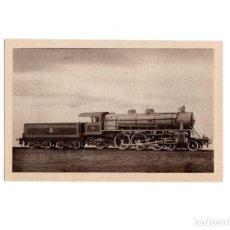Postales: FERROCARRILES ESPAÑOLES. LOCOMOTORA TIPO PACIFIC 2 - 3 - 1, SERIE 901/915 DE MZA, 1920. Lote 153885370