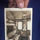 Postales: POSTAL CAMINOS DE HIERRO DEL NORTE DE ESPAÑA INTERIOR DEPARTAMENTO 1ª CLASE MUMBRU. Lote 154432806