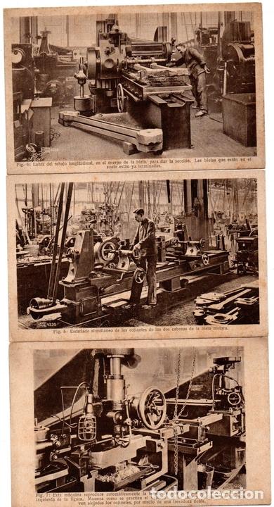 Postales: PS8166 POSTALES DE ENSEÑANZA. 16 POSTALES SOBRE CONSTRUCCIÓN DE LOCOMOTORAS HANOMAG. PRINC. S. XX - Foto 4 - 156073998