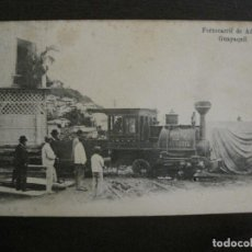Postales: ADUANA DE GUAYAQUIL-FERROCARRIL-REVERSO SIN DIVIDIR-POSTAL ANTIGUA-VER FOTOS-(58.441). Lote 159137362