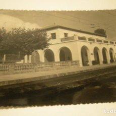 Postales: ESTACION LAS FONTS DE TARRASA POSTAL FOTOGRAFICA EN BUEN ESTADO. Lote 159278654