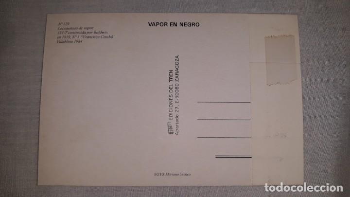 Postales: Serie completa de 10 postales- ed.del tren/ 013.numeradas de 121 a 130 - Foto 2 - 160344958