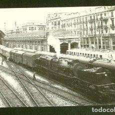 Postales: ESTACION VALENCIA TERMINO 1964 - POSTAL Nº 4036 - LOCOMOTORA GARRATT - ED. EUROFER. Lote 162399134