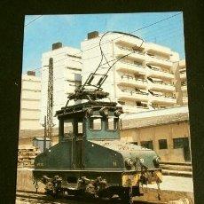 Postales: VALENCIA (PONT DE FUSTA) 1980 - POSTAL Nº 419 VAGON TREN TRACTOR T-11 SERIE T-10 . Lote 162403826