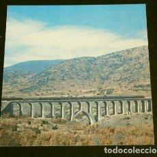 Postales: POSTAL RECORTADA - COLECCION RENFE - SERIE V 8 . VIADUCTO DE LOZOYA. Lote 162406122
