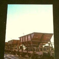 Postales: COLECCION RENFE - SERIE M-13 - TOLVA - VAGON CARGA - TREN VAPOR. Lote 162406522