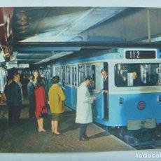 Postales: POSTAL DE PARIS ( FRANCIA ) : LE METRO ... VAGON DEL METRO DE PARIS . AÑOS 50. Lote 165425026