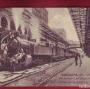 Postales: BARCELONA - INTERIOR APEADERO PASEO DE GRACIA - JORGE VENINI - 124. Lote 167954864