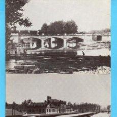 Postales: TRES POSTALES DEL MUSEO DEL FERROCARRIL DE ARANJUEZ FOTOS DE JUAN SALGADO SIN CIRCULAR . Lote 168324804