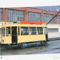 Postales: POSTAL DE TRANVIAS - Nº 971 TRANVIAS DE BILBAO COCHE U52 - PRUEBAS EN LA CAF 2002 - EUROFER. Lote 168414089