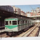 Postales: POSTAL - Nº 379 COCHE 311-301 METRO DE BARCELONA SERIE 301-304 / 311-314 - TERRASA 1983 - EUROFER. Lote 168414165